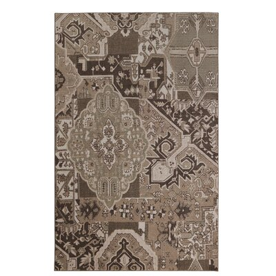 Harriman Brown Area Rug Rug Size: Rectangle 5 x 8