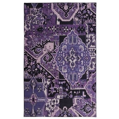 Claudio Purple Area Rug Rug Size: Rectangle 5 x 8