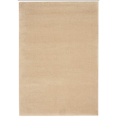 Brooklyn Beige Area Rug Rug Size: Rectangle 53 x 75