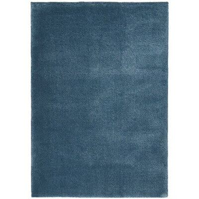 Brooklyn Blue Area Rug Rug Size: Rectangle 53 x 75