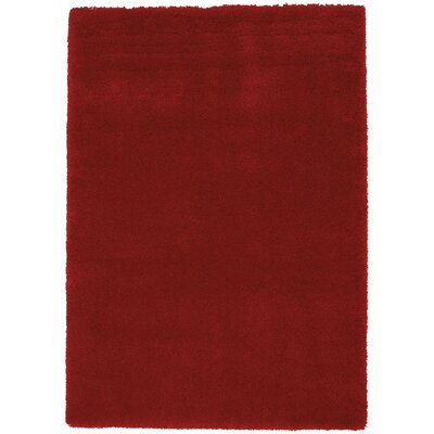 Brooklyn Burgundy Area Rug Rug Size: Rectangle 53 x 75