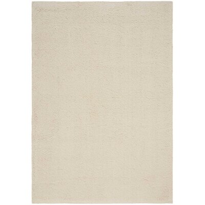 Brooklyn Ivory Area Rug Rug Size: Rectangle 53 x 75