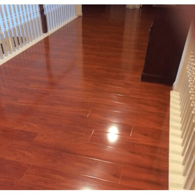 7 x 48 x 12mm Laminate Flooring in Warm Rosewood
