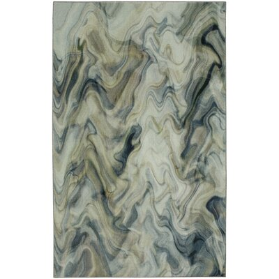 Hausman Gray/Ivory Area Rug Rug Size: Rectangle 8 x 10