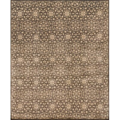 Claussen Hand Woven Wool Elmwood Area Rug Rug Size: Rectangle 56 x 86