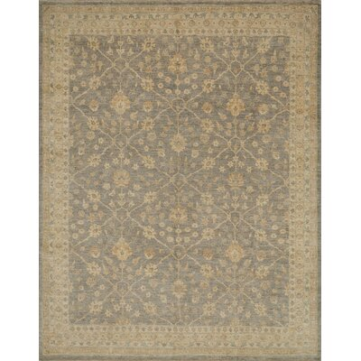 Mina Hand Woven Wool Ivory Area Rug Rug Size: Rectangle 79 x 99