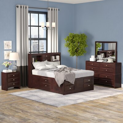 Oreland Platform 4 Piece Bedroom Set Size: Queen