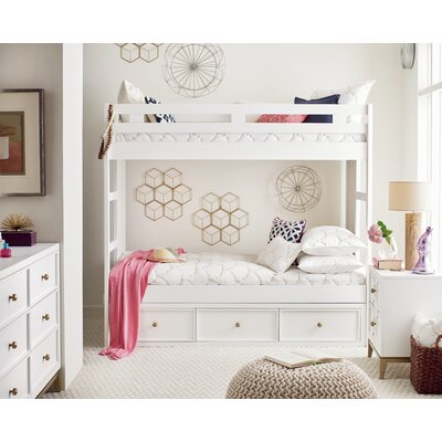 Complete Twin Panel Bed with Storage Drawer