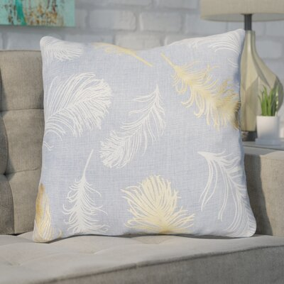 Shanon Throw Pillow Color: Blue