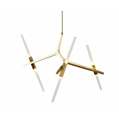 Daren Small 1-Light LED Sputnik Chandelier