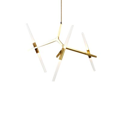 Cottone 6-Light Sputnik Chandelier