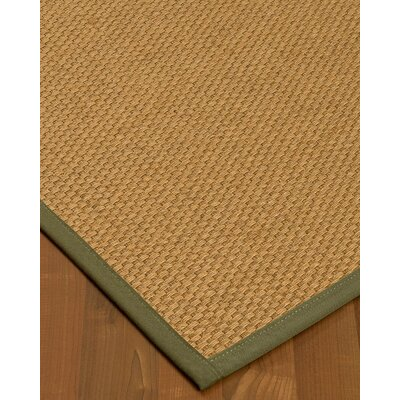 Buse Hand-Woven Beige Area Rug Rug Size: Rectangle 8 x 10
