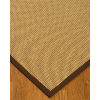 Buser Hand-Woven Beige Area Rug Rug Size: Rectangle 4 x 6