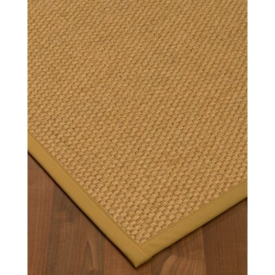 Kimpel Hand-Woven Beige Area Rug Rug Size: Rectangle 3 x 5