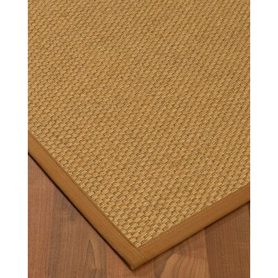 Kimpel Hand-Woven Beige Area Rug Rug Size: Rectangle 4 x 6