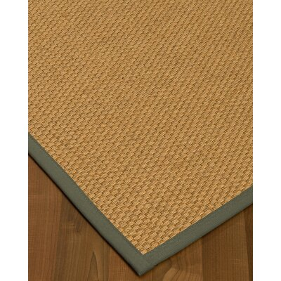 Kimpel Hand-Woven Beige Area Rug Rug Size: Rectangle 6 x 9