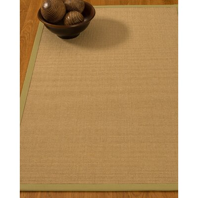 Buser Hand-Woven Beige Area Rug Rug Size: Rectangle 9 x 12