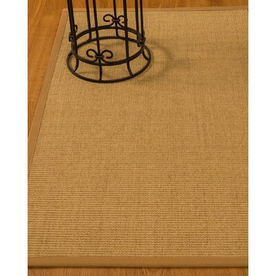 Busey Hand-Woven Beige Area Rug Rug Size: Rectangle 5 x 8