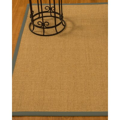 Busey Hand-Woven Beige Area Rug Rug Size: Rectangle 4 x 6