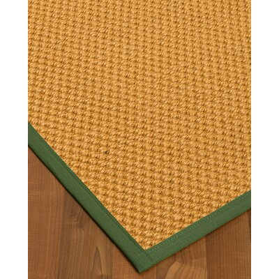 Kimes Hand-Woven Beige Area Rug Rug Size: Rectangle 9' x 12'