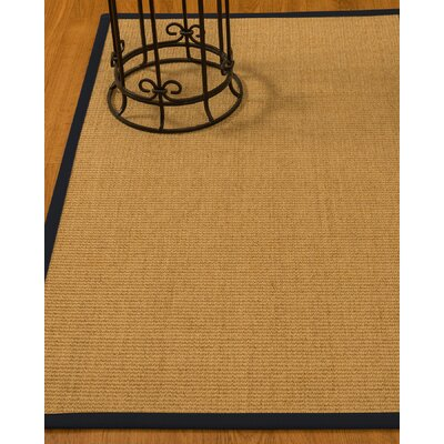 Busey Hand-Woven Beige Area Rug Rug Size: Rectangle 2 x 3