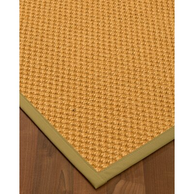 Kimes Hand-Woven Beige Area Rug Rug Size: Rectangle 3 x 5