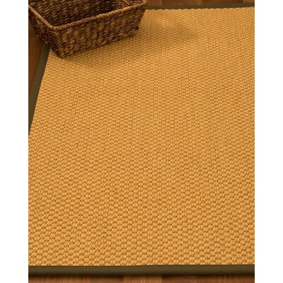 Kimes Hand-Woven Beige Area Rug Rug Size: Rectangle 9 x 12