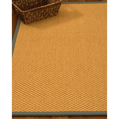 Kimes Hand-Woven Beige Area Rug Rug Size: Rectangle 5 x 8