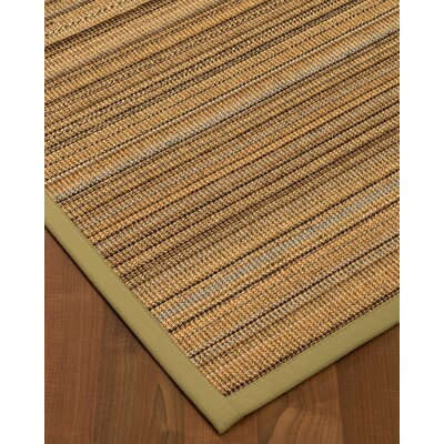 Troyer Hand-Woven Beige Area Rug Rug Size: Rectangle 4 x 6