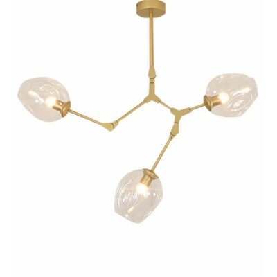 Dolph 3-Light LED Sputnik Chandelier