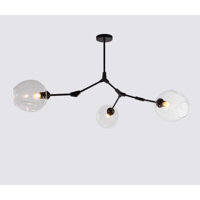 Dolson 3-Light LED Sputnik Chandelier