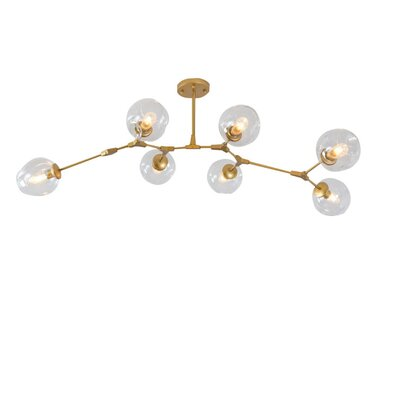 Daren 6-Light LED Sputnik Chandelier
