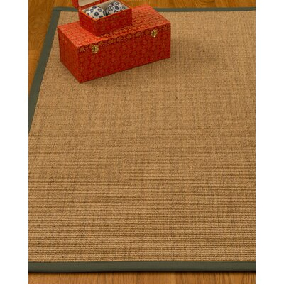 Kimberlin Hand-Woven Beige Area Rug Rug Size: Rectangle 12 x 15