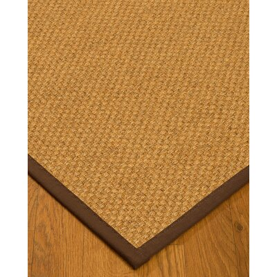 Mccane Hand-Woven Beige Area Rug Rug Size: Rectangle 4 x 6