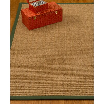 Kimberlin Hand-Woven Beige Area Rug Rug Size: Rectangle 9 x 12