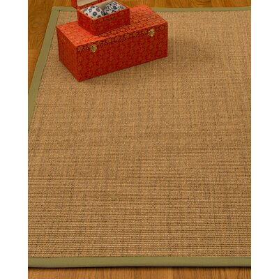 Kimberlin Hand-Woven Beige Area Rug Rug Size: Rectangle 8' x 10'