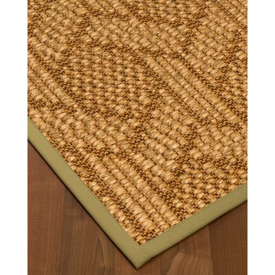 Kimberlin Hand-Woven Beige Area Rug Rug Size: Rectangle 6 x 9
