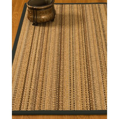 Kimmel Hand-Woven Beige Area Rug Rug Size: Rectangle 6 x 9