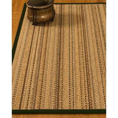 Kimmel Hand-Woven Beige Area Rug Rug Size: Rectangle 9 x 12