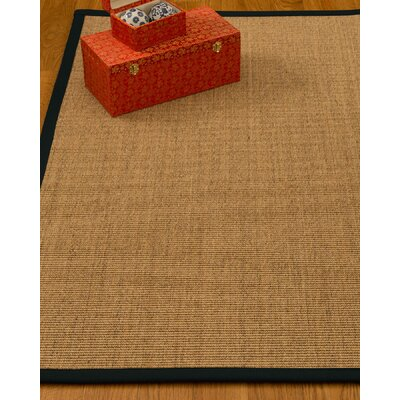 Kimberlin Hand-Woven Beige Area Rug Rug Size: Rectangle 6' x 9'