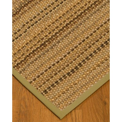 Kimmel Hand-Woven Beige Area Rug Rug Size: Rectangle 2 x 3
