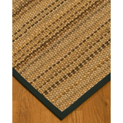 Kimmel Hand-Woven Beige Area Rug Rug Size: Rectangle 4 x 6