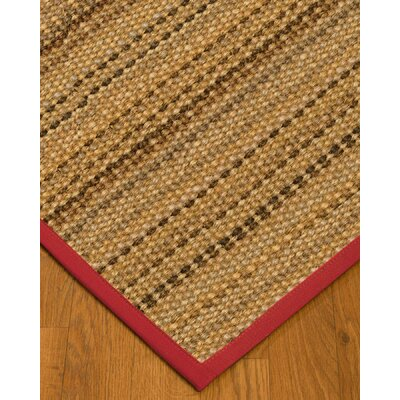 Kimmel Hand-Woven Beige Area Rug Rug Size: Rectangle 5 x 8