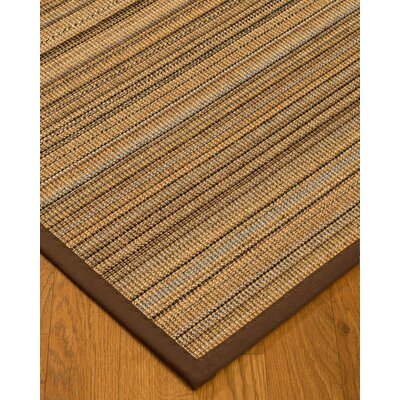 Troyer Hand-Woven Beige Area Rug Rug Size: Rectangle 6 x 9