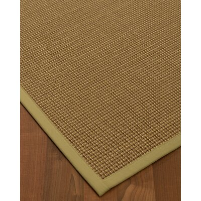 Kimmons Hand-Woven Beige Area Rug Rug Size: Rectangle 6' x 9'