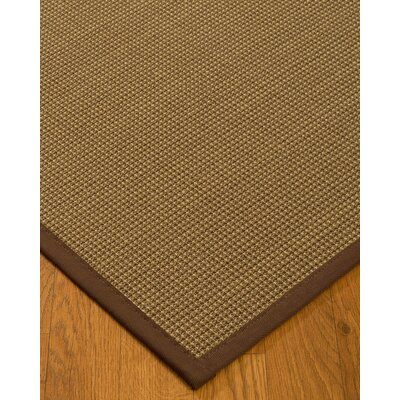 Kimmons Hand-Woven Beige Area Rug Rug Size: Rectangle 4 x 6