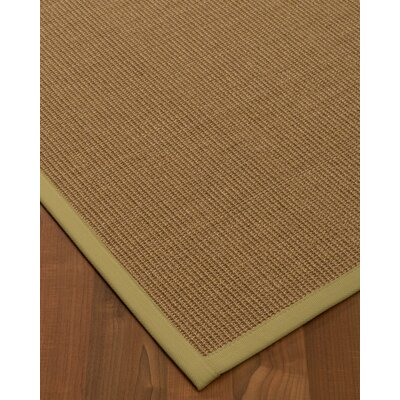 Chadbourne Hand-Woven Beige Area Rug Rug Size: Rectangle 4 x 6