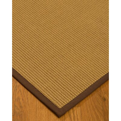 Decarlo Hand-Woven Beige Area Rug Rug Size: Rectangle 6 x 9