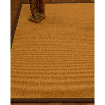 Decarlo Hand-Woven Beige Area Rug Rug Size: Rectangle 3 x 5