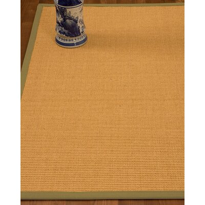 Edinger Hand-Woven Beige Area Rug Rug Size: Rectangle 9 x 12